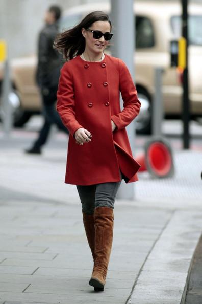 Pippa en rouge