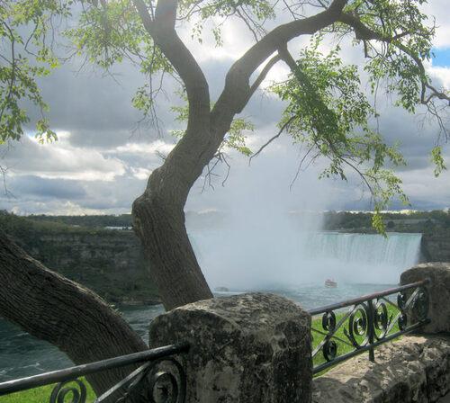 Visite aux chutes Niagara