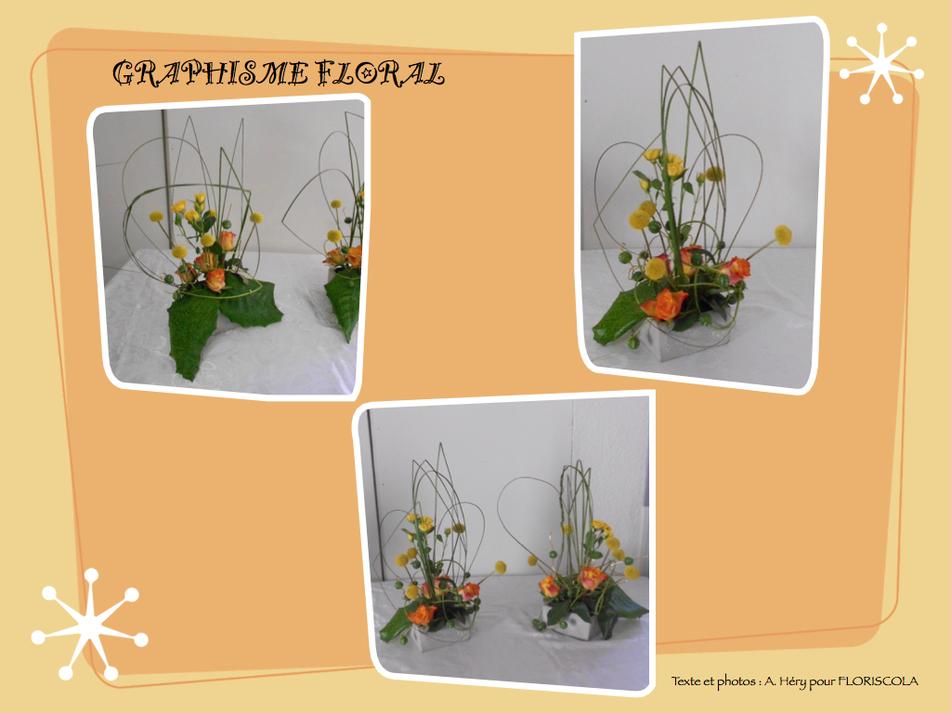 Graphisme floral