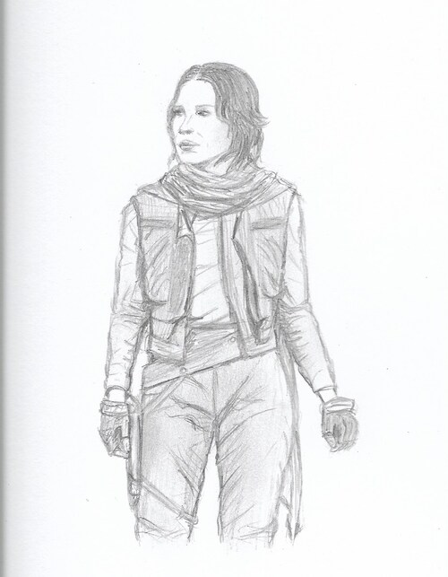 Rogue One, Jyn Erso (Felecity Jones)