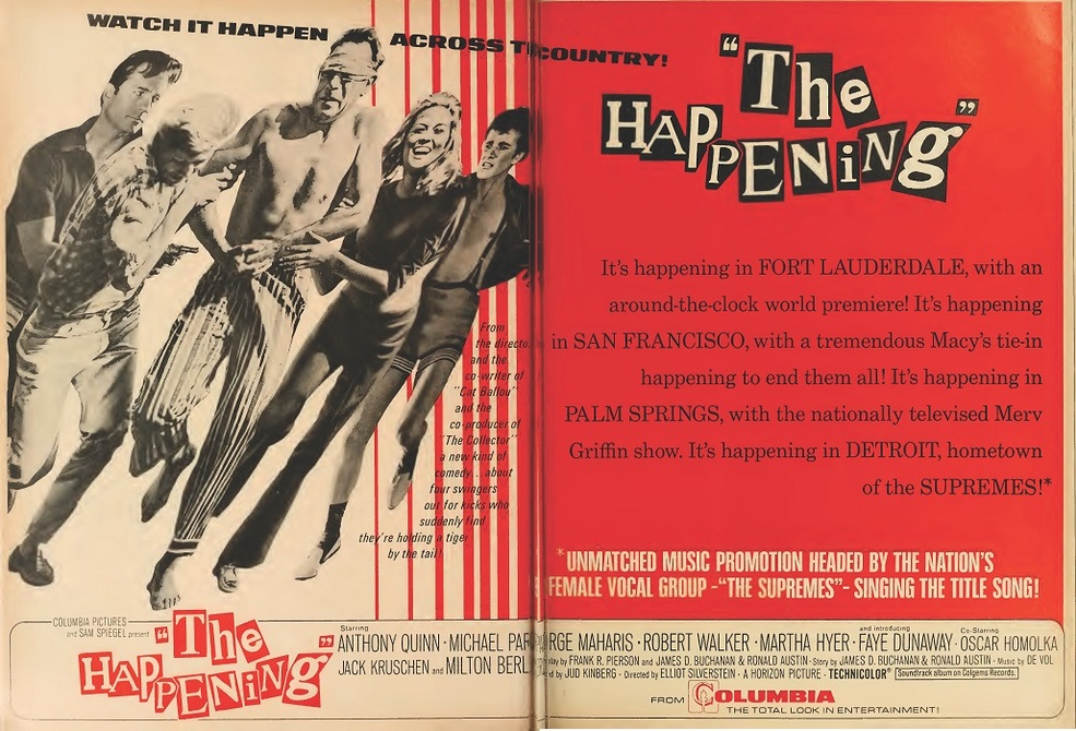 THE HAPPENING box office usa 1967