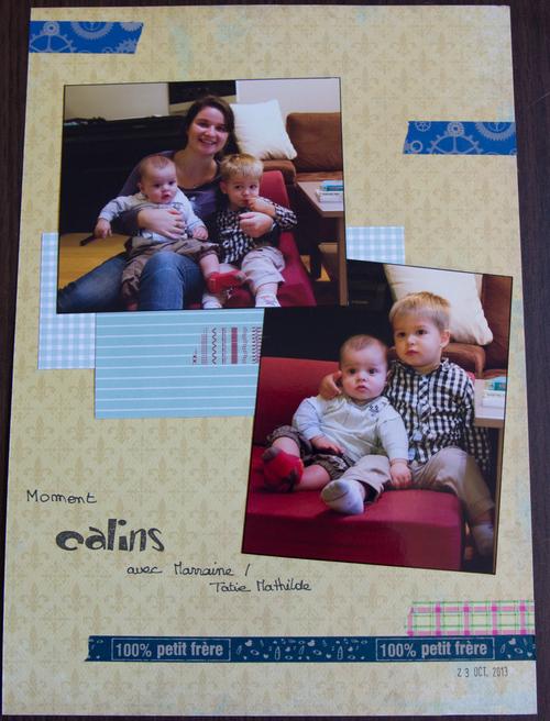 Mylène : Album Baptiste - Quelques pages A4 (4)