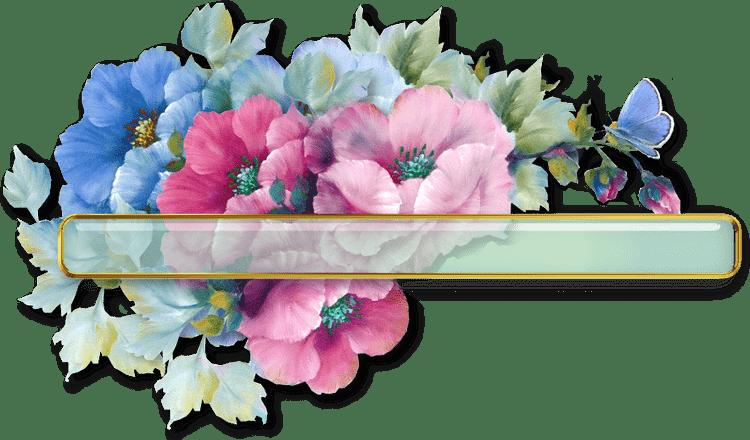Boutons contenu fleuris /Anémones