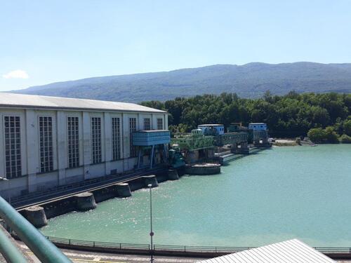 L-usine barrage de Seyssel