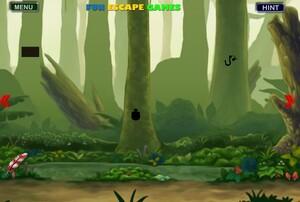 Jouer à Dark hidden jungle escape
