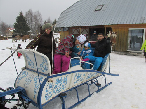 Sortie famille du 3 Janvier 2015 a la Feclaz