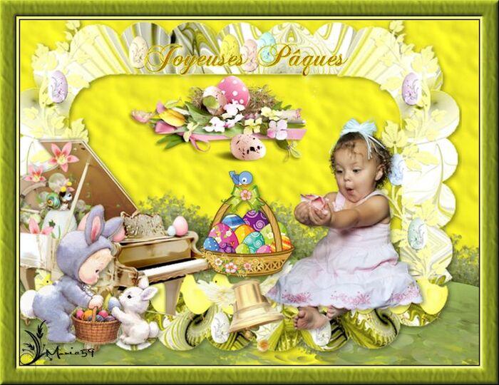 Récapitulatif defi Pâques