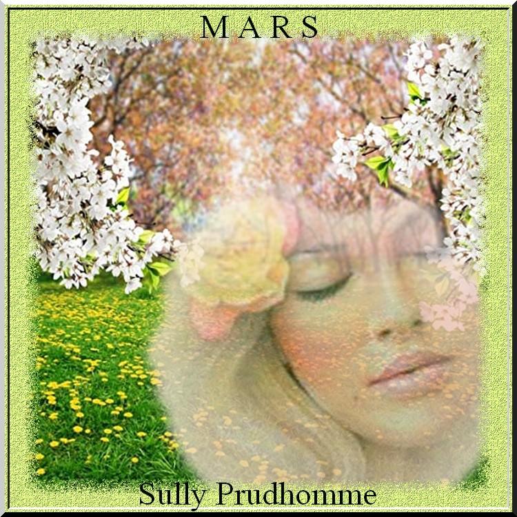 """""""Mars"""" poème de Prudhomme"""