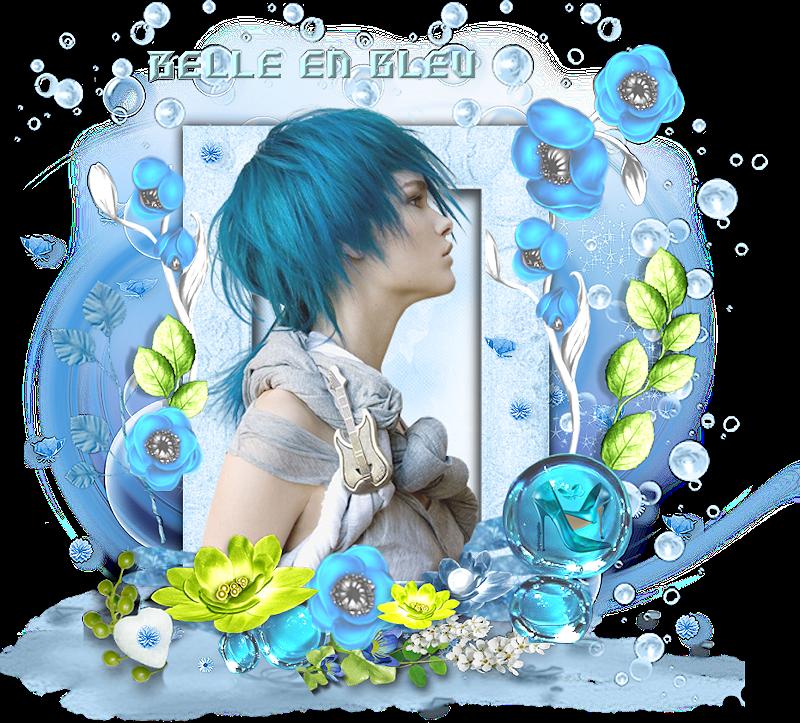 *** Belle en bleu ***