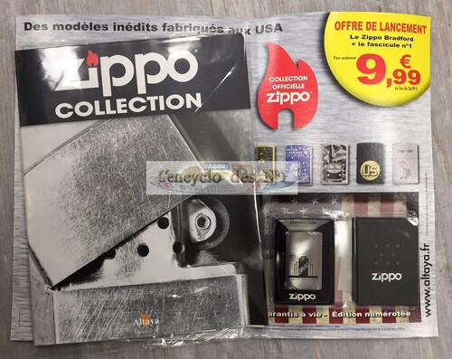 N° 1 Zippo collection - Lancement