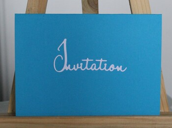Cartes pop up invitation