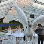 Répétition Grieg-Mozart au musée Rodin - chorégraphies de Ghislain de Compreignac - cours de danse classique à Paris