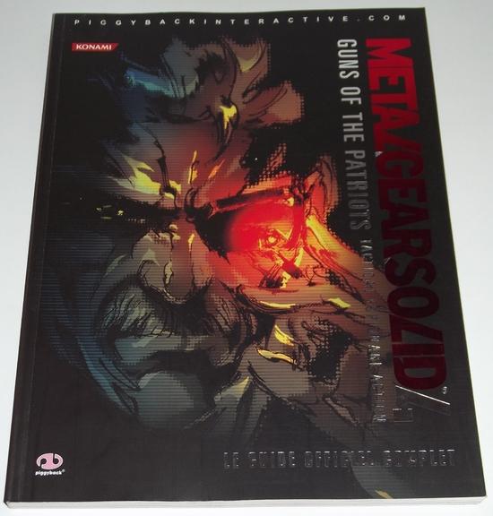 Guide Metal Gear Solid 4