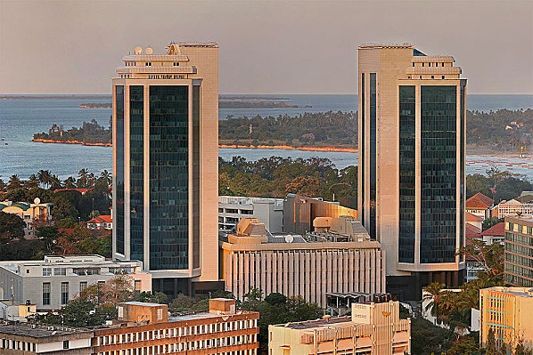 800px-Bank of Tanzania golden hour edit