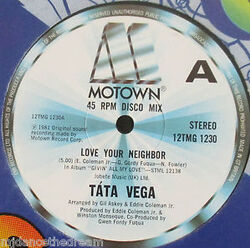 Tata Vega - Love Your Neighbor