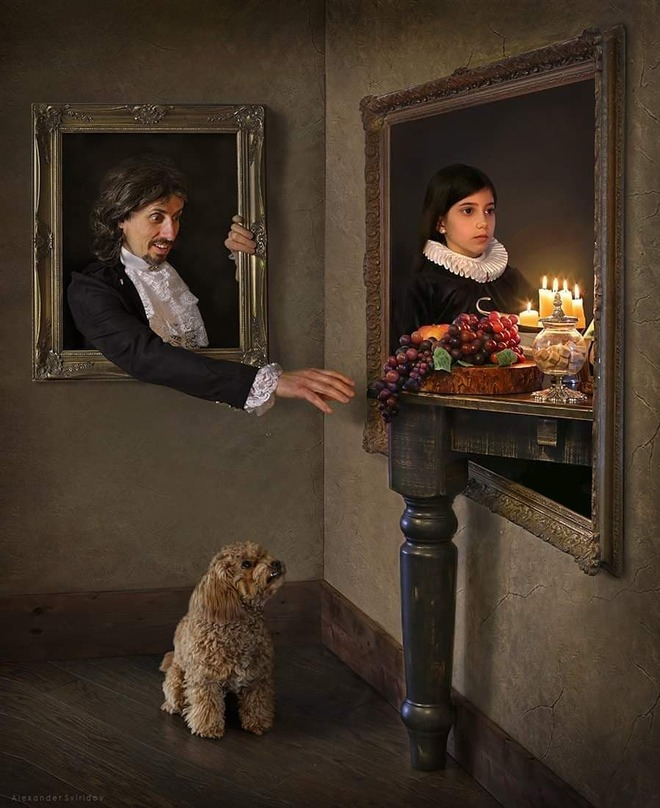 hyper realistic portrait paintings stealthy fruit