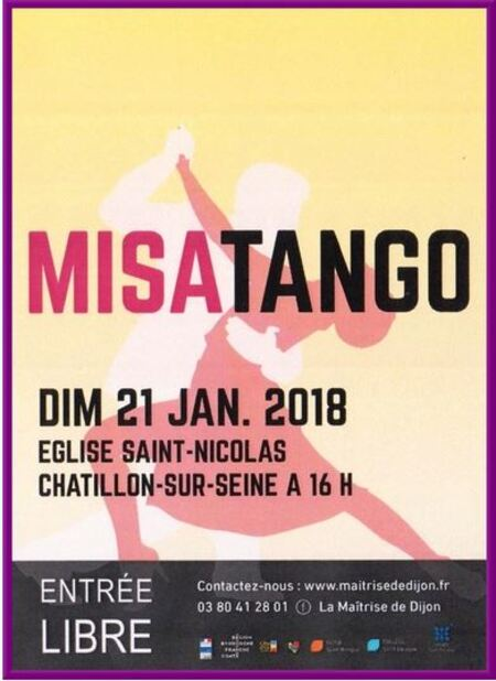 """""""MISATANGO """" un superbe concert aujourd'hui à 16 heures dans l'église Saint-Nicolas"""