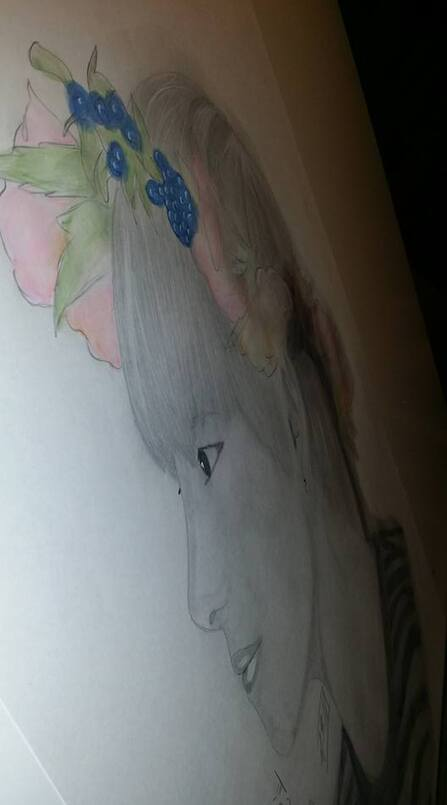 petit dessin drawing Kpop {Taehyung(v)}[BTS]