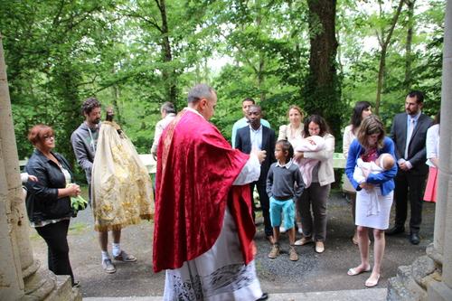 """Messe de Pentecôte à Cazals - lancement de """"la mission Zachée"""""""