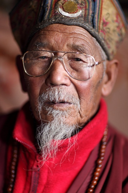 #world #cultures Old People in Tibet