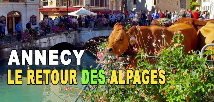 12 octobre 2019 : descente des alpages à Annecy