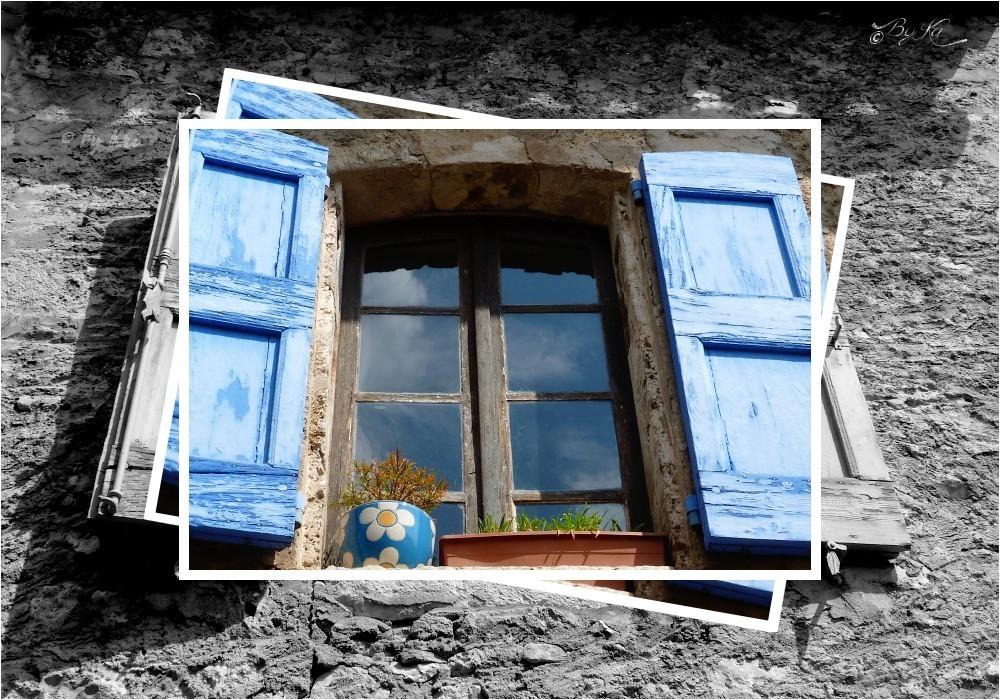 Fenêtre en Provence (Moustiers-Sainte-Marie ~ Fr-04) ...