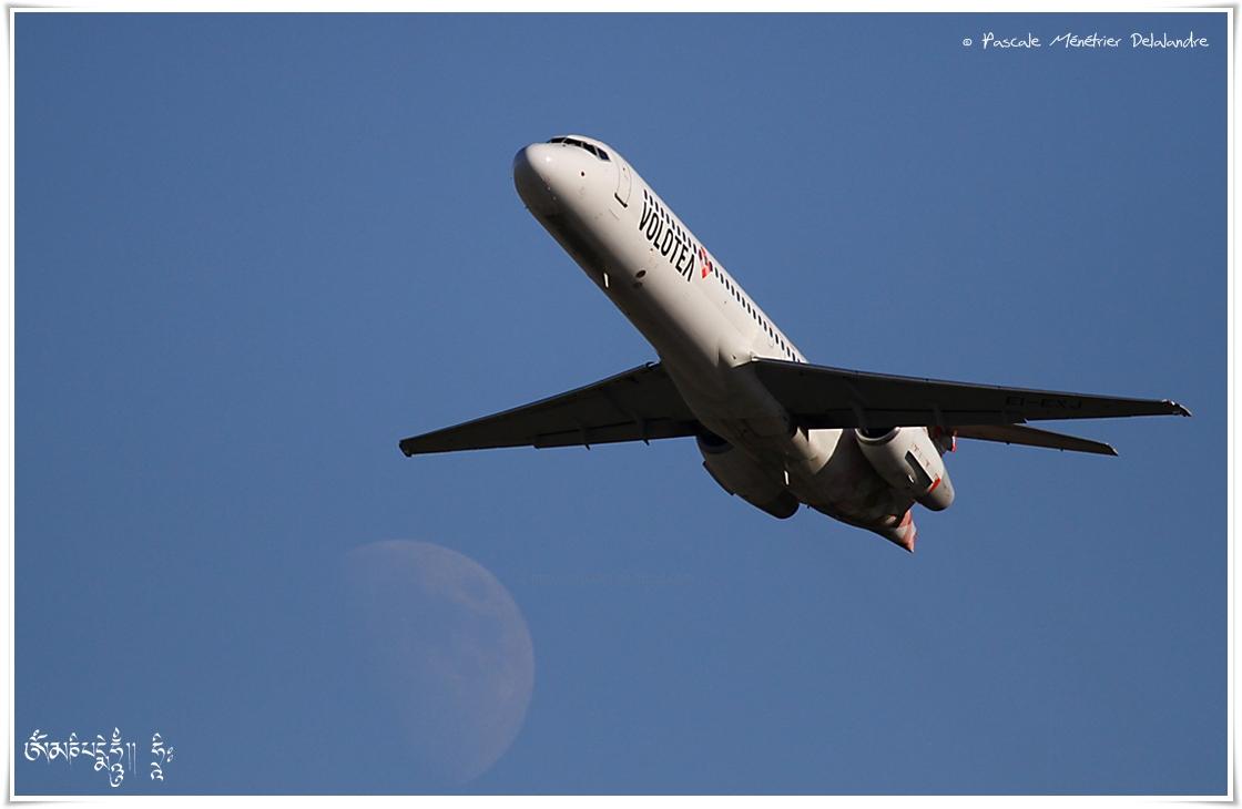 Jeux avec Dame la Lune...