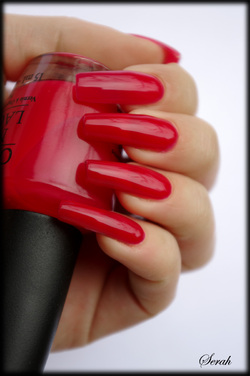 OPI Too Hot Pink Too Hold Em!
