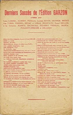 Musique Argentine - Adios Argentina