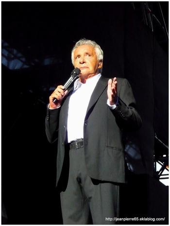 Concert Michel Sardou (Vienne 20.07.2013) 1ère partie