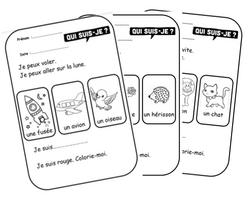 Petits textes pour travailler la lecture et la compréhension en CP, compréhension, phrases, inférences, animaux, lecture, structures répétitives