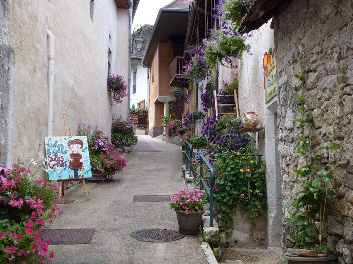 Chanaz, découverte du village.