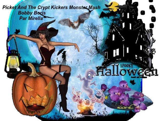 Picket And The Crypt Kikers Monster Mash     Bobby Boris     Par Mirella