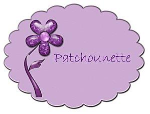 Patchounette fleur violette