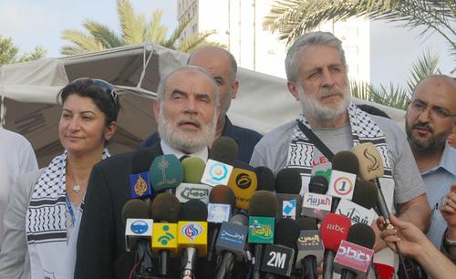 الوفد الأوروبي في غزة