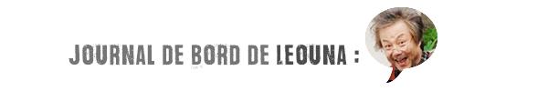 Journal de Bord / Semaine 1Janv 2015
