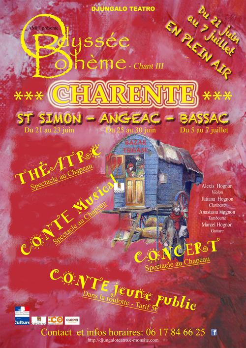 2019 - ODYSSEE BOHEME - Chant III
