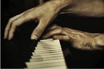 Le pianiste...