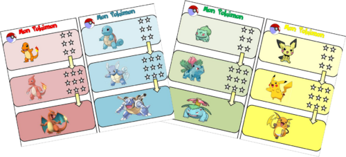 Jeu Pokémon: les tables de multiplication