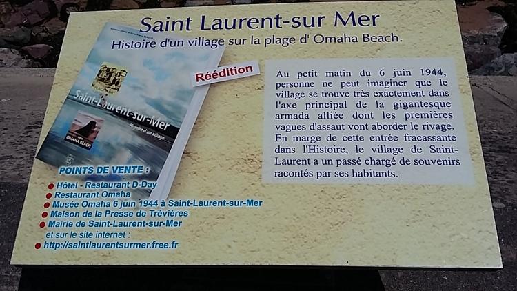 plage du débarquement - st Laurent sur mer