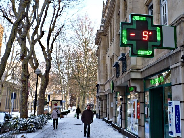 Centre Pompidou Metz neige 9