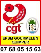Quimper-Appel du Syndicat CGT de L'Hôpital Gourmelen: Pour que tous les agents de l'EPSM soient traités équitablement!