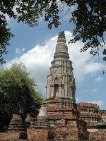 Ruine d'Ayutthaya