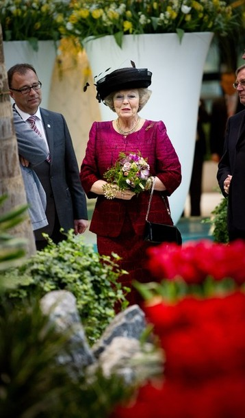Beatrix aux floralias