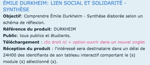 FICHE AUTEUR - EMILE DURKHEIM