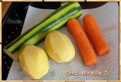 Röstis aux 3 Légumes