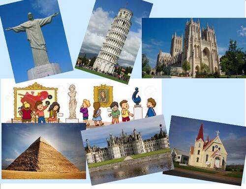 CE2/3 - Landmarks, monuments and ... nouns !