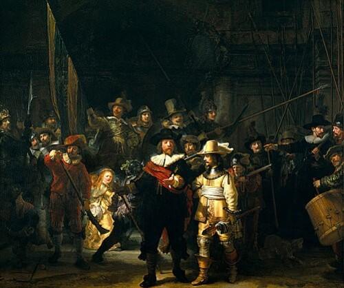 717px-Rembrandt van Rijn-De Nachtwacht-1642