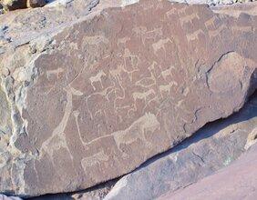 Namibie, le mystère des pierres gravées