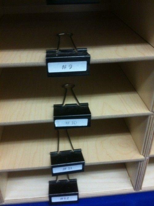 Une astuce d'organisation par jour : les pinces double clip